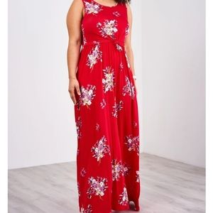 Latched Mama Ruby Floral Boardwalk Maxi